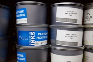 Offset Printing Inks at the Bounty Print Factory